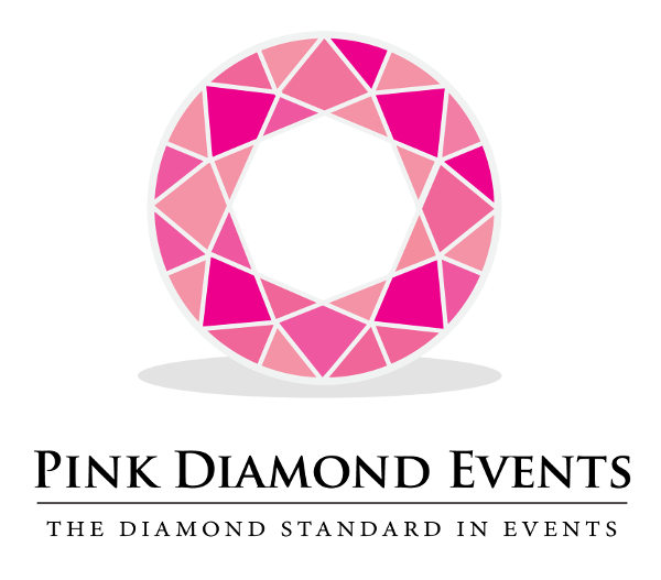 Pink Diamond Events Retina Logo